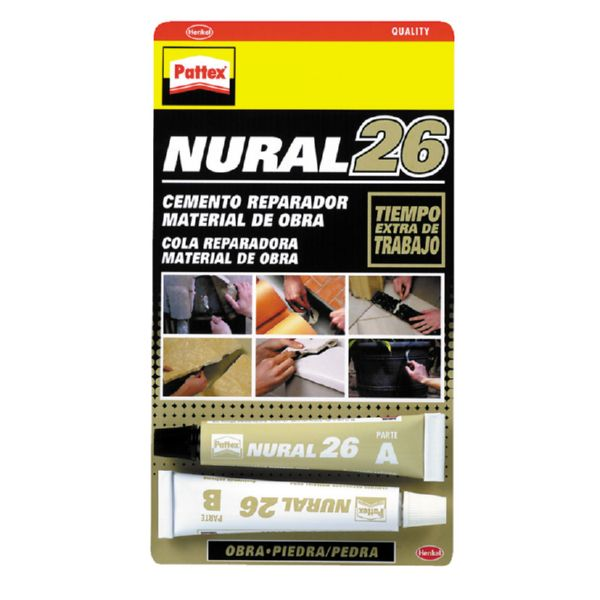 PATTEX NURAL 26 22ML REPARADOR CONSTRUCCION